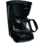 Mr. Coffee TF5 4-Cup Coffee Maker - Black
