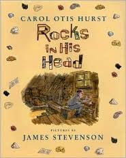 Rocks in His Head by Carol Otis Hurst: Book Cover