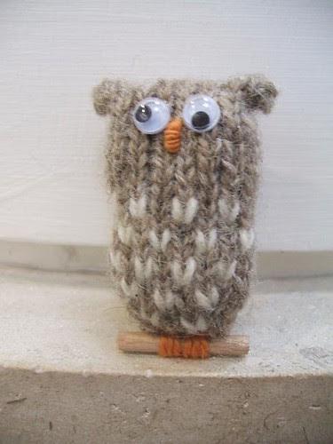 little brown owls