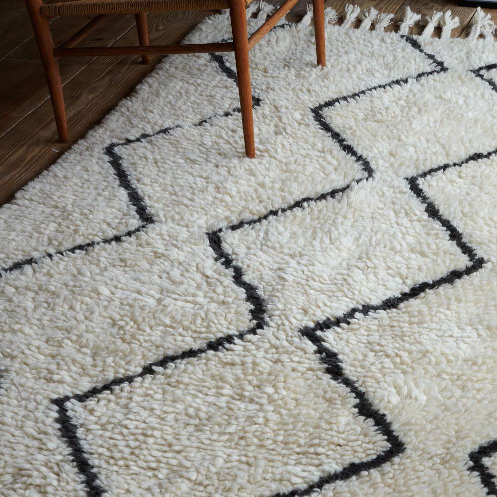 Black And White Geometric Rug Uk Kitchen Design