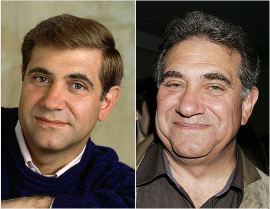 Dan Lauria then and now [click for more info from ABCNews.com]
