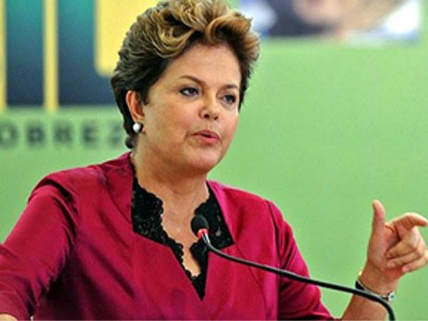 Dilma reforçou também bandeiras do seu governo