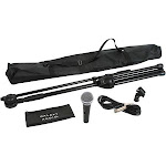 Galaxy Audio RT66SXD Complete Unidirectional Cardioid Microphone Stand Kit