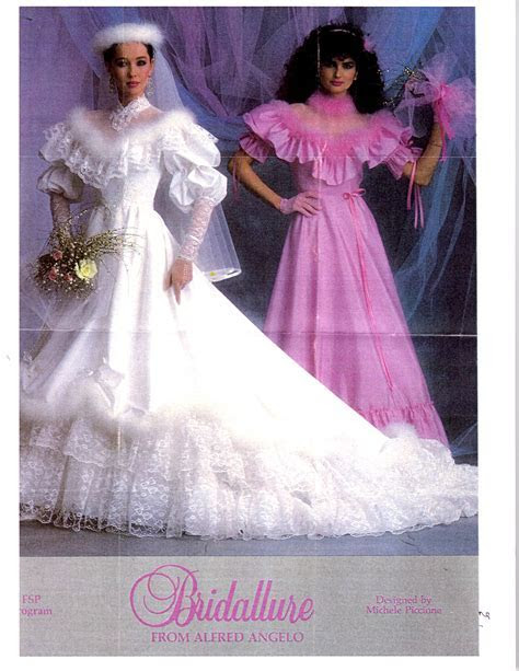 Mine: 1984 Bridallure from Alfred Angelo   designed by