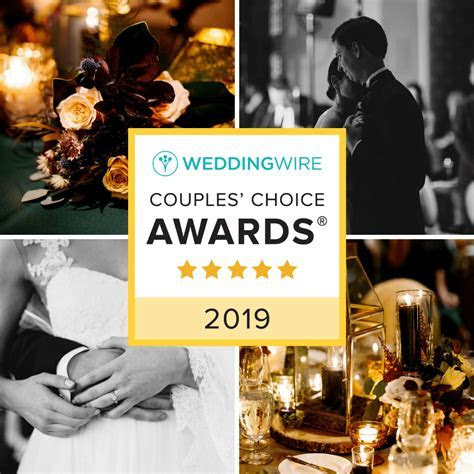 2019 WeddingWire Couples? Choice Awards® for 2nd Year in a