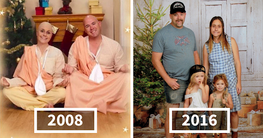 Family Sends The Most Awkward Christmas Cards For 15 Years, And It's Too Funny