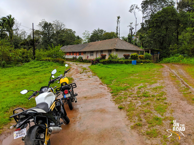 Monsoon Motorcycle Rural holiday to Athihally, Karnataka