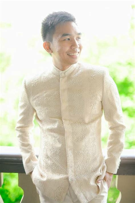 barong suit  bks menswear handembroidered