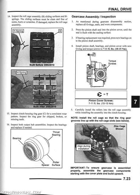 2009-2010 Polaris Ranger RZR S 800 UTV Service Manual