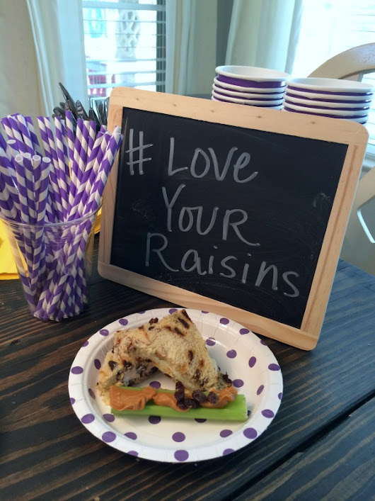 On the Go Snacks For Healthy Kids #loveyourraisins - Brittany Estes