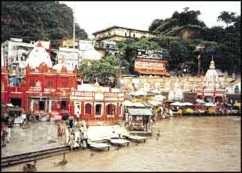 The Scene of Haridwar