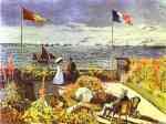 Claude Monet.  Terraço em Saint-Adresse.