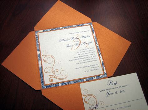 Navy Blue wedding invitation ? A Vibrant Wedding