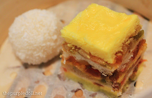 Steamed Sweetened Layer Cake and Sweet Egg Custard