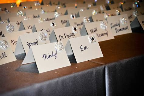 Invitations & More Photos   Handwritten Escort Cards with