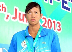 ASEAN Schools Games, swimmer, Nguyen Thi Anh Vien, long jump