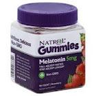 Natrol Melatonin, 5 mg, Gummies, Strawberry - 90 gummies