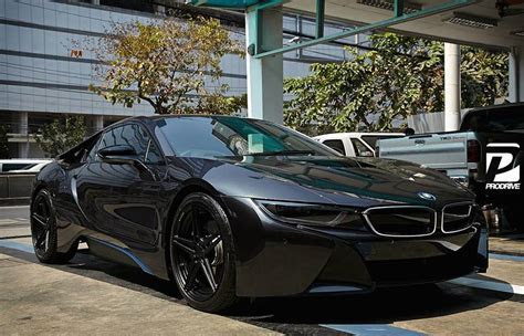 Black on Black BMW i8 by Prodrive