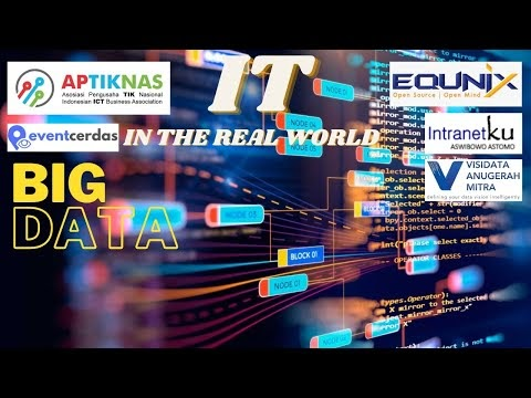 Dokumentasi Virtual Event APTIKNAS IT in the Real World - BIG DATA 30 Juli 2020