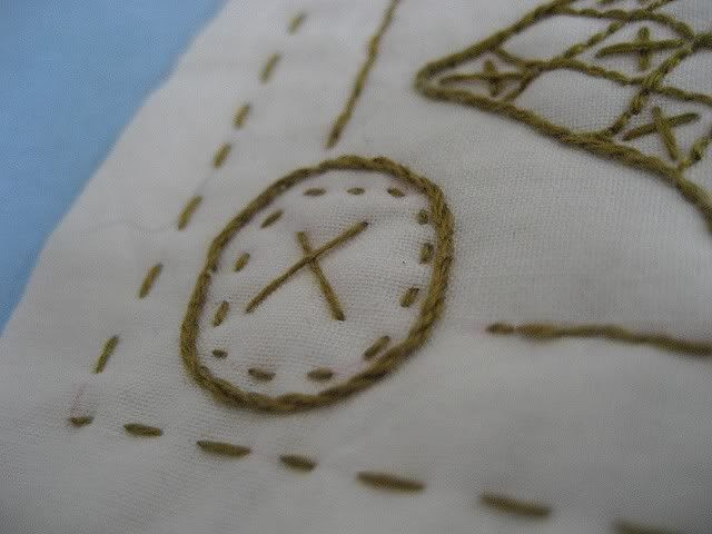 Stitchery closeup