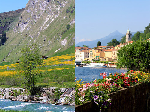 Nufenen (Switzerland) + Bellagio (Italy)