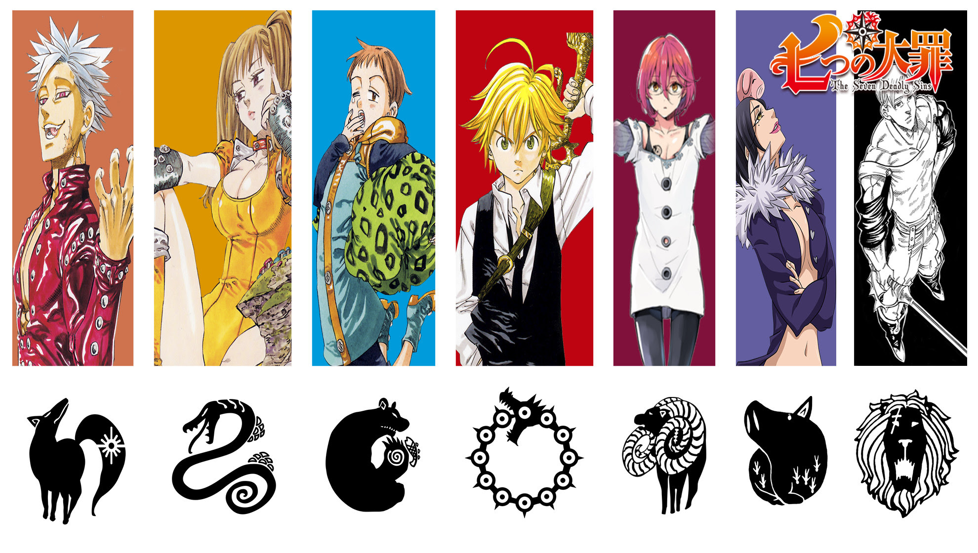 Seven Deadly Sins Wallpaper Hd 63 Images