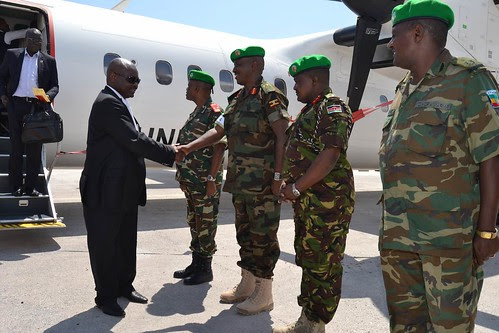 Somalia's AMISOM Commander Lt. Gen. Silas Ntigurirwa of Burundi. The United States and United Nations supported army has over 20,000 troops. by Pan-African News Wire File Photos