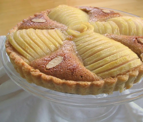 French Pear and Almond Tart