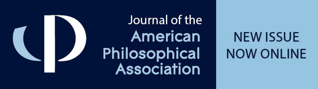 Journal of the American Philosophical Association Header