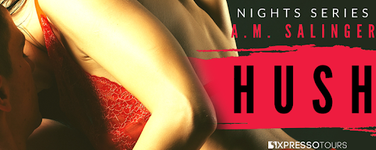 Cover Reveal: Hush by A.M. Salinger