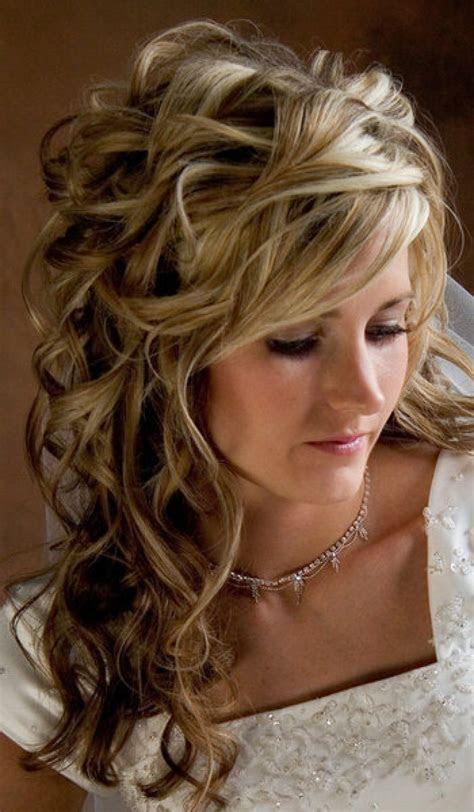 Wedding Hairstyles Long Curly Hair Design 350x600 Pixel