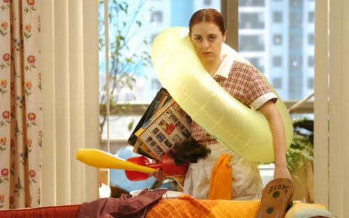 Bozena: Lá em Pato Branco tinha uma mulher que tinha um segredo. Celinha: Que segredo, Bozena? Bozena: Não sei, era segredo daí.