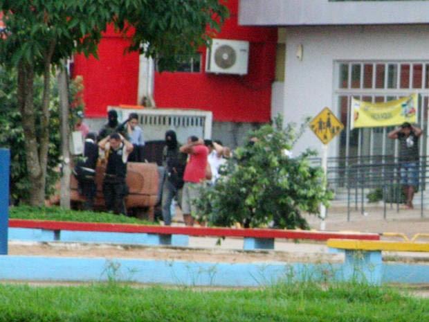 Assalto em Uruará - 3 (Foto: Valdeci Mecca/VC no G1)