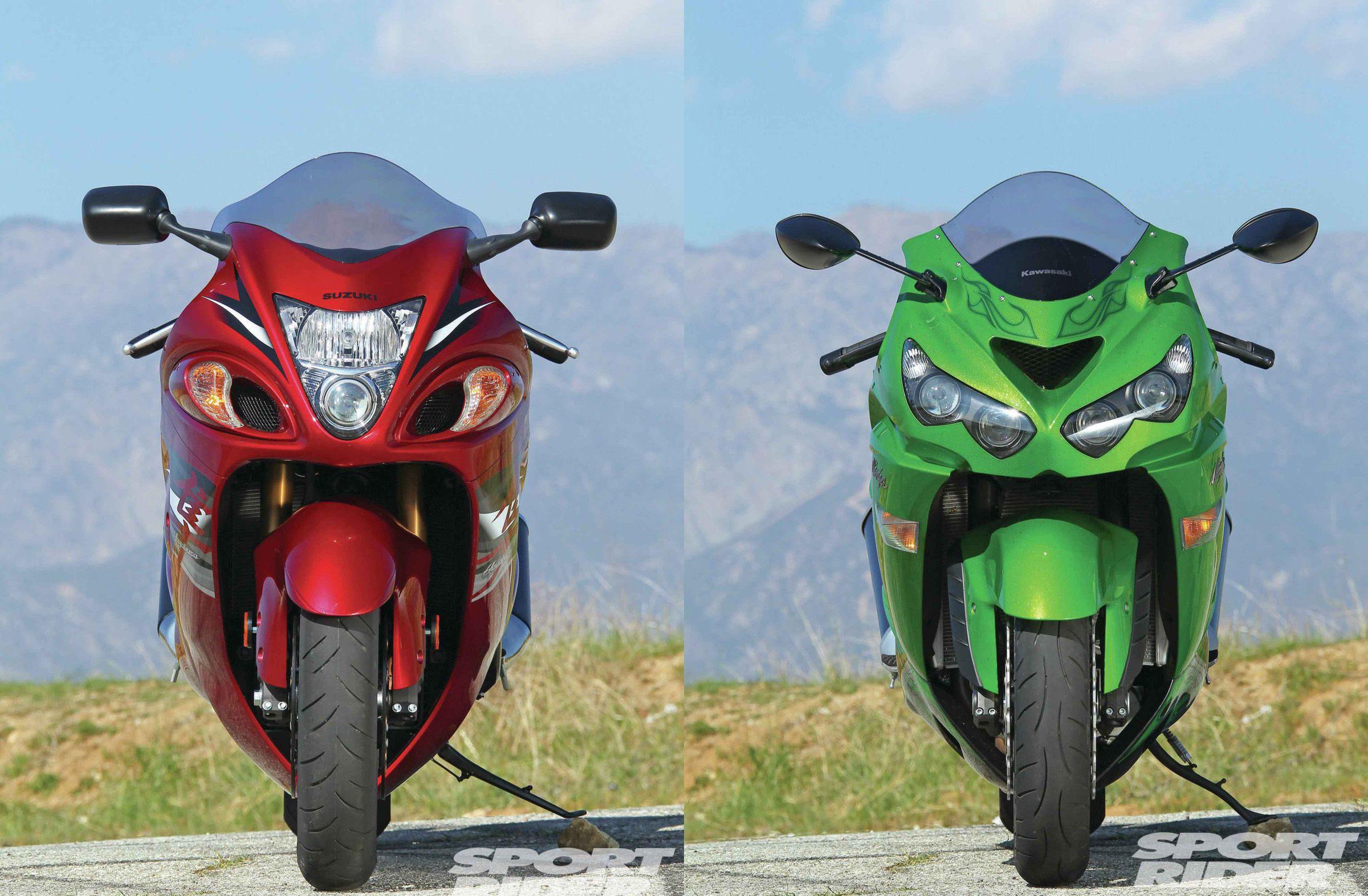 2012 Kawasaki Zx 14r Vs Suzuki Hayabusa Cycle World