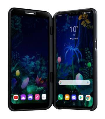 LG V50 ThinQ 5G: dos pantallas muestran más que una