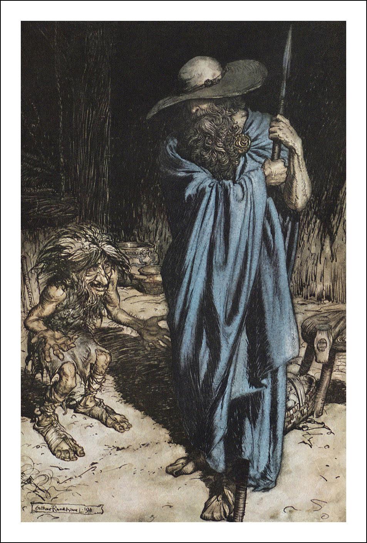 Arthur Rackham, L'Anneau du Niebelungen