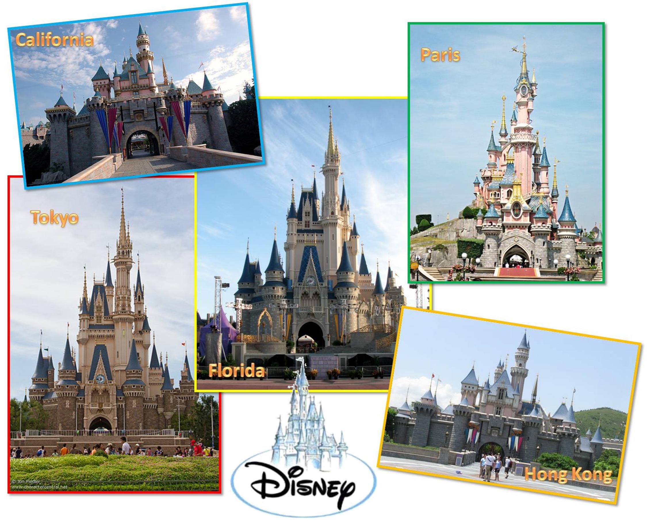 "Disney Around the World   ""CELEBRATE THE MAGIC"""