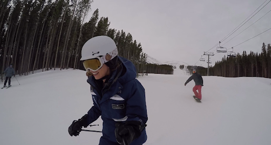 Run of the day featuring Peak 7 [video] - Blog.Breckenridge.com
