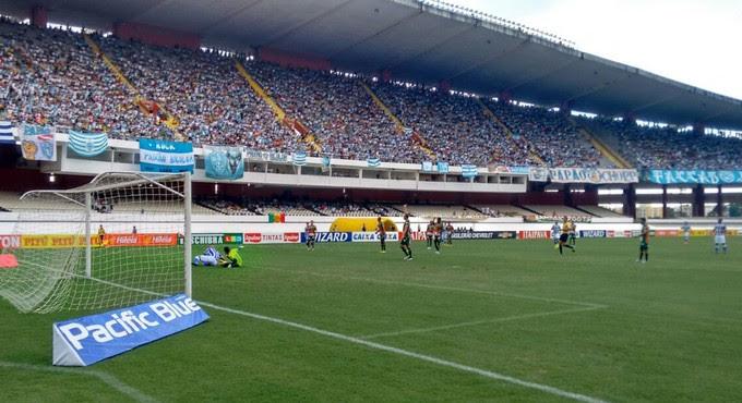 Sampaio empatou com Paysandu por 1 a 1 no Mangueirão (Foto: Afonso Diniz / GloboEsporte.com)