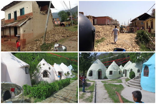 Superadobe/Earthbag Orphanage Withstands Nepal Earthquake