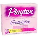 Playtex Gentle Glide Tampons Deodorant Multi-Pack - 18ct