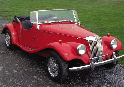 Allen Motor Cars TG Sports replica of 1955 MG