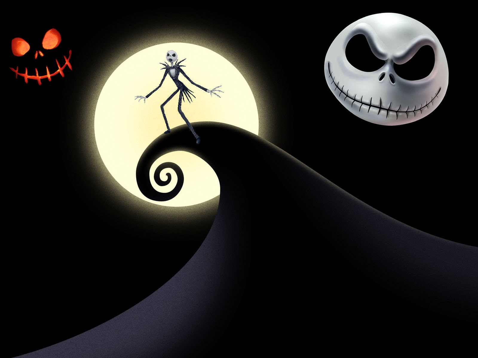 Nightmare Before Natal O Estranho Mundo De Jack Wallpaper