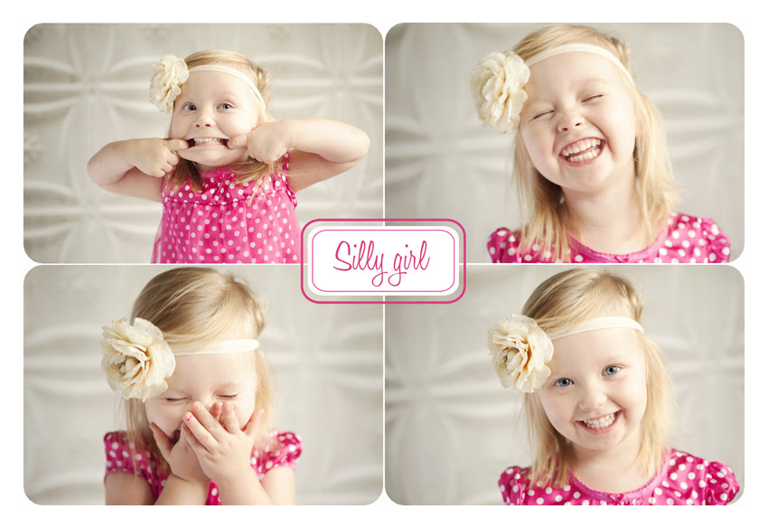 Silly Girl Collage