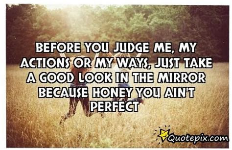 Can You Look In The Mirror Quotes
