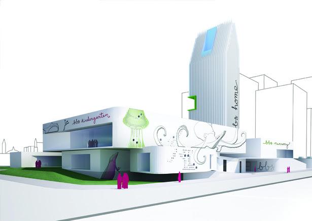 BBS preschool by AGi architects, regional winner at the Arabian ...