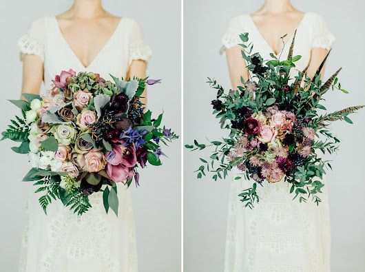 Beautiful Autumn Wedding Bouquets {From The RMW Book}