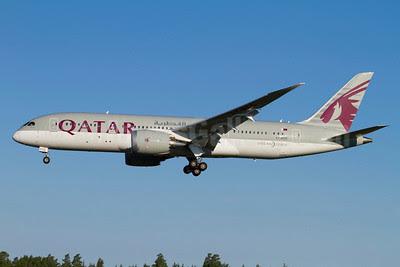 Qatar Airways Boeing 787-8 Dreamliner A7-BCC (msn 38321) ARN (Stefan Sjogren). Image: 913189.
