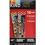 Kind Plus Bars, Variety Pack - 18 pack, 1.4 oz bars