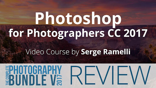 Photoshop for Photographers CC 2017 - 5DayDeal Video Review - farbspiel photography